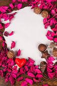 Valentine message — Stock Photo
