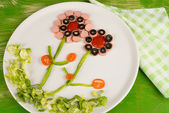 Salad for kids — Photo