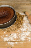 Honing taart — Stockfoto