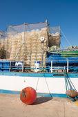 Aquaculture equipment — Stock Photo
