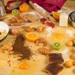 Stock Photo: Cooking mess