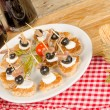 Stock Photo: Assorted tapas