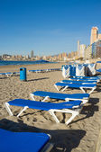 Benidorm beach — Stock Photo