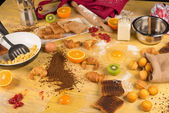 Cooking mess — Stock Photo