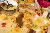 Food mess — Stock Photo