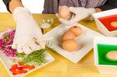 イースターの卵をペイント — ストック写真