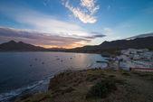 Andalusian fishing village — Stock Photo