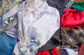 Second hand clothes — Stock Photo