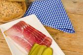 Smoked ham — Stock Photo