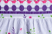 Fabric with abstract pattern — Стоковое фото