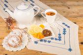 Tea time with roibos — Stock Photo