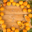 Loquats and marmalade — Stock Photo #48701525