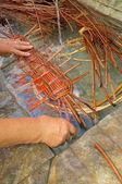 Traditional wickerwork — Stock Photo