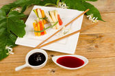 Fake sushi — Stock Photo