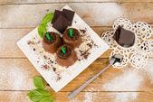 Çikolata pops — Stok fotoğraf