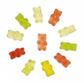 Gummy bears — Stock Photo