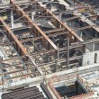 Stock Photo: Construction Site with Steel Girders
