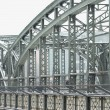 Metal Truss Bridge — Stock Photo