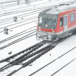 Stock Photo: Public Transportation in Winter