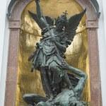 Постер, плакат: Saint Michael defeats Satan