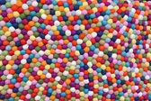 Multicolor Balls of Wool — 图库照片