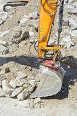 建設重機ショベル — ストック写真