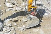 Excavador de la construcción pesada — Foto de Stock