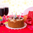 Birthday table - Foto Stock