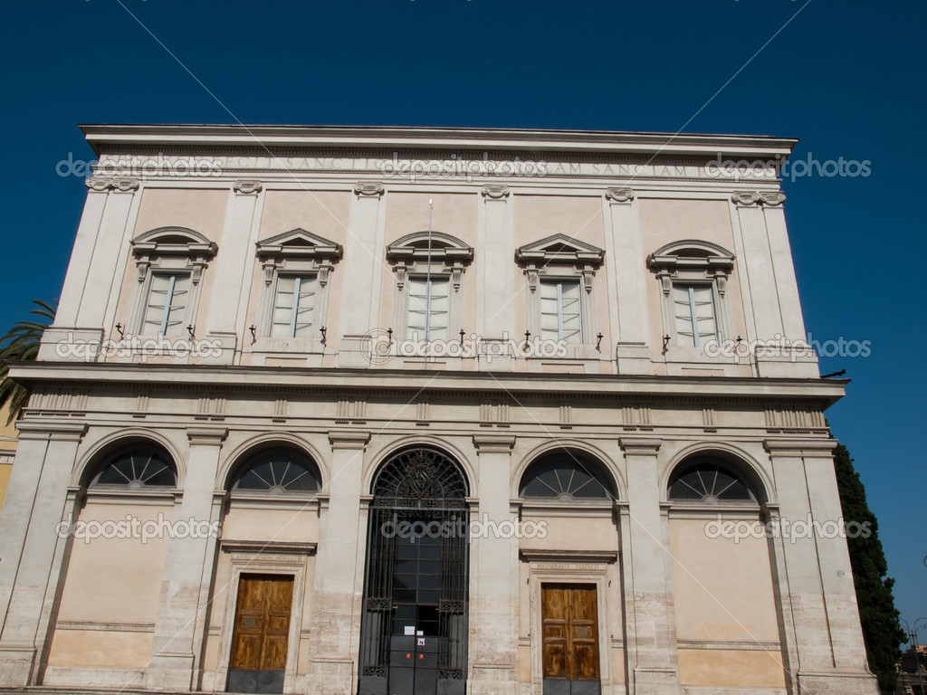 The facade of Chapel of Scala Sancta ,Lateran — Stock Photo #12313142