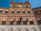 Siena-Italy — Stock Photo