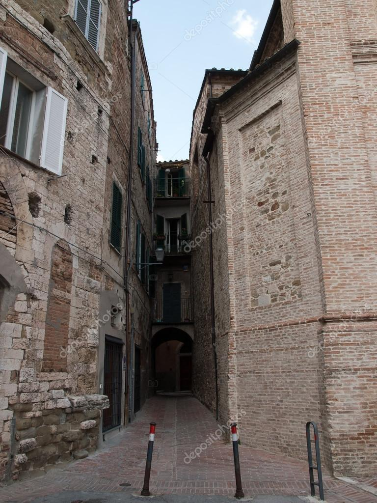 Blind alley in Perugia ,Italy — Stock Photo #14936883