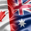 Stock Photo: Canadand Australia