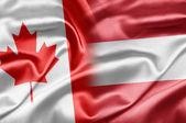 Canada and Austria — Stock Photo