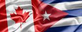 Canada and Cuba — Stock Photo