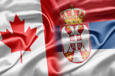 Canada and Serbia — Stock Photo
