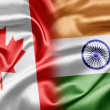 Stock Photo: Canadand India