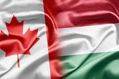 Canada and Hungary — Stock Photo