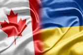 Canadá y ucrania — Foto de Stock