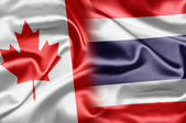 Canada and Thailand — Stock fotografie