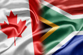 Canada and South Africa — Stock Photo