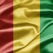 Flag of Guinea — Stock Photo