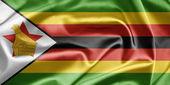 Drapeau du zimbabwe — Photo