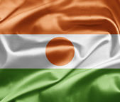 Flag of Niger — Stock Photo