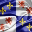 Flag of Picardy, France - Stock Photo