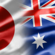 Japan and Australia — Stock Photo