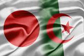 Japón y argelia — Foto de Stock