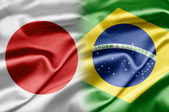 Japan and Brazil — Stock Photo