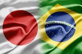 Japan and Brazil — Stock Photo