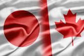 Japón y canadá — Foto de Stock