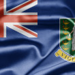 Flag of British Virgin Islands — Stock Photo